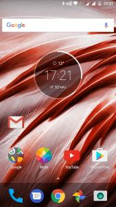 Screenshot Moto G5 Plus