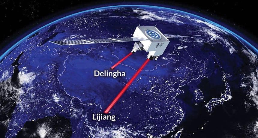 Čínsky kvantový satelit Micius