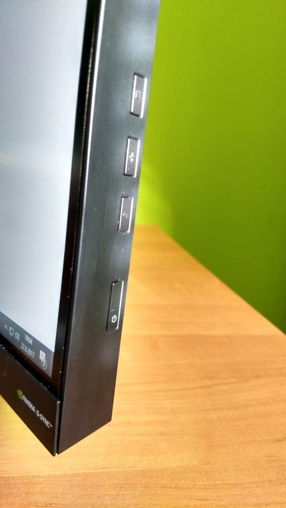 HP Omen X35 ovládanie