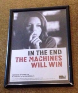 in the end the machines will win