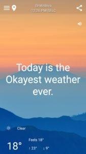 Vtipná predpoveď počasia - HumorCast