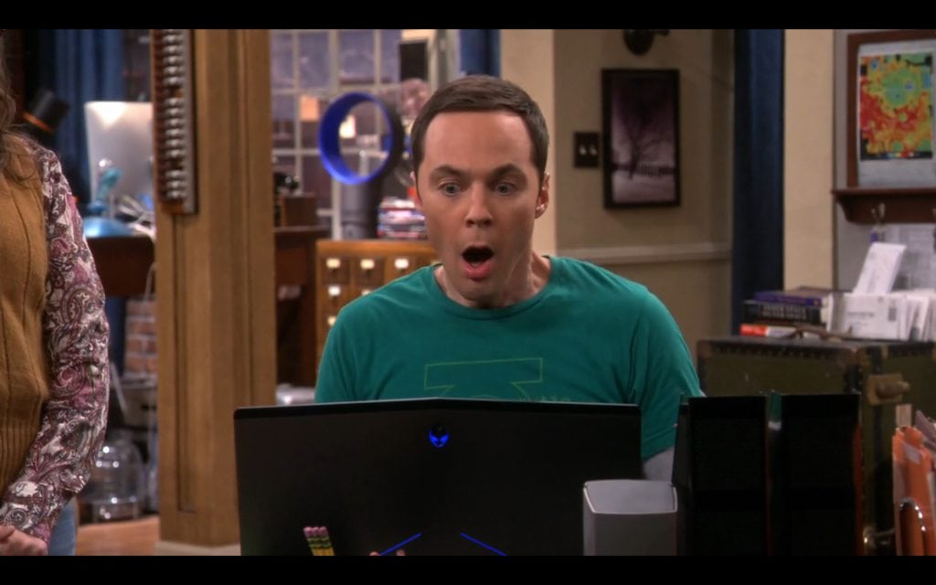 Dell Alienware The Big Bang Theory
