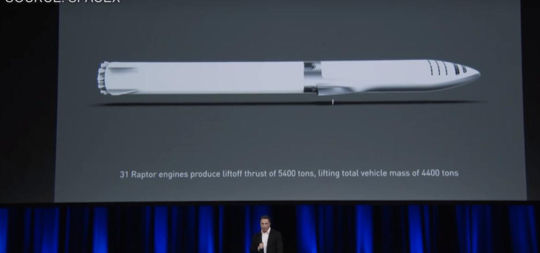 Elon Musk spaceship