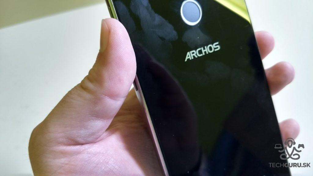 Archos 55 Diamond Selfie zadná časť