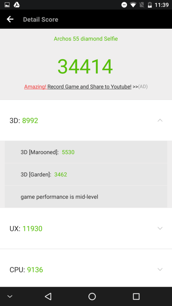 Archos 55 Diamond Selfie benchmark 02