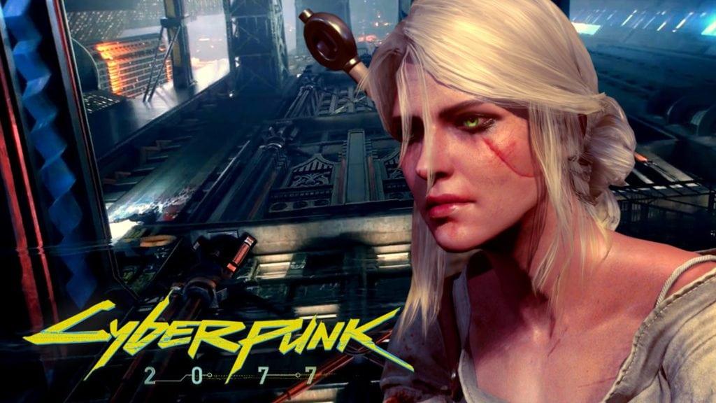 Ciri vs Cyberpunk 2077