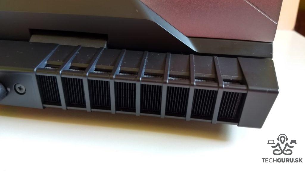 Alienware 17 R4 chladenie