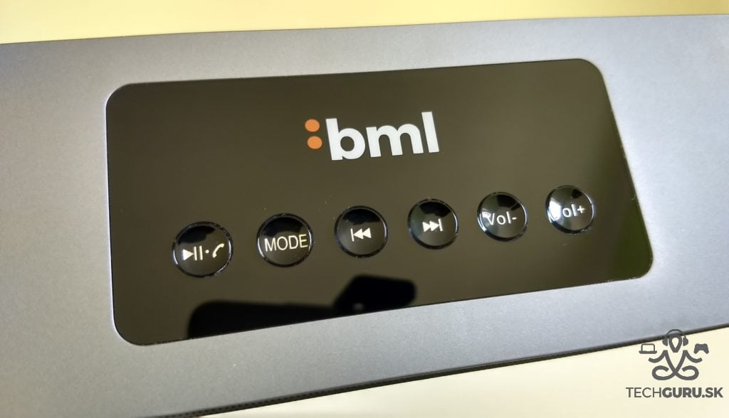 BML S7 ovládanie