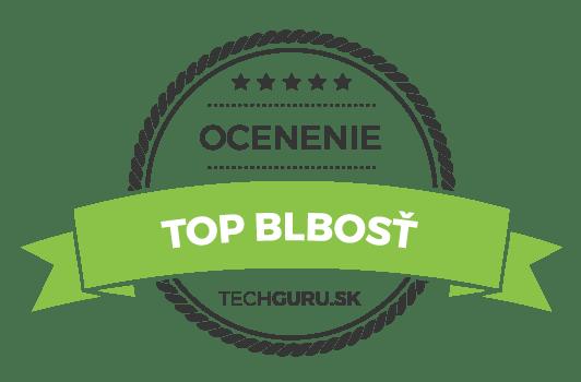 Ocenenie TechGuru.sk TOP blbosť