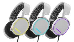 SteelSeries ponúka vianočné balíčky Arctis 5 White - Illumination