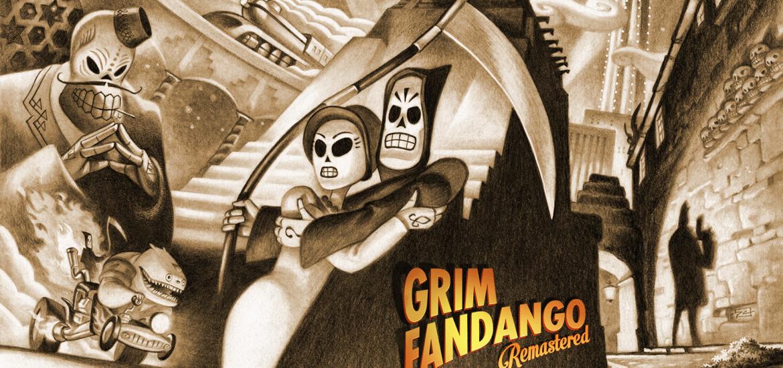 Grim Fandango Remastered zadarmo title