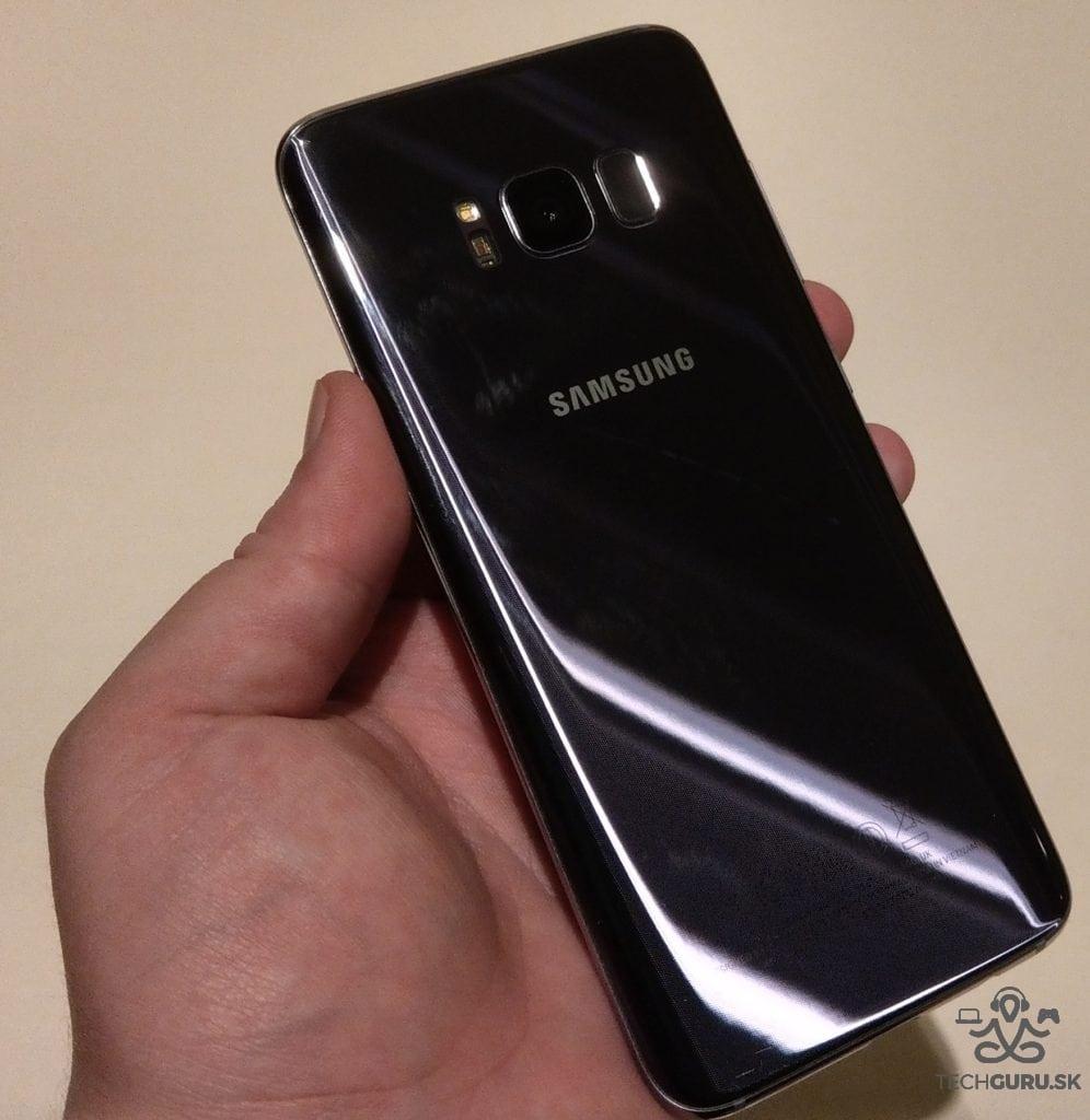 Samsung Galaxy S8 zadná časť
