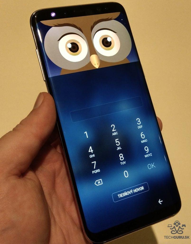 Samsung Galaxy S8 masky odomknutia 01