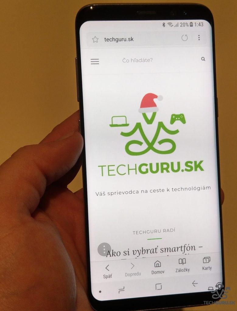 Samsung Galaxy S8 TechGuru.sk