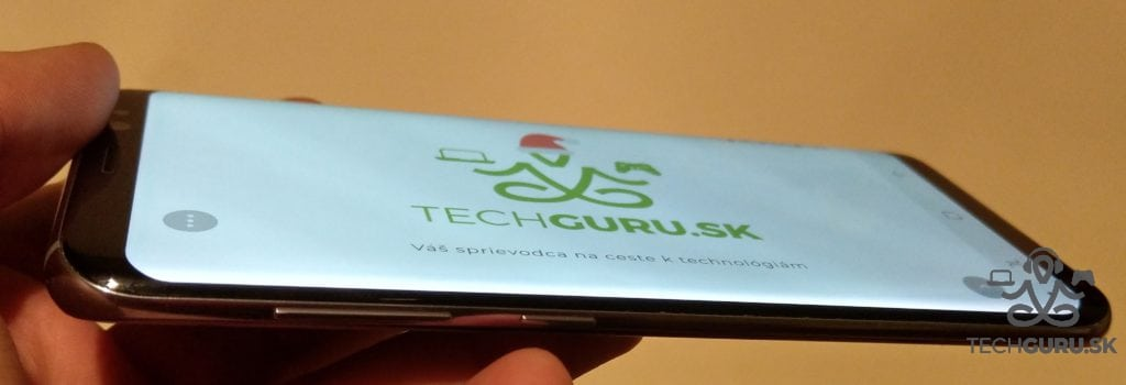 Samsung Galaxy S8 pozorovacie uhly