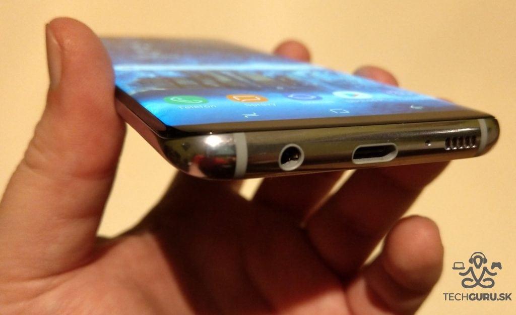 Samsung Galaxy S8 spodná časť
