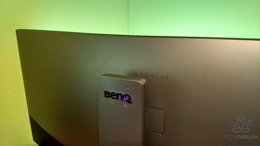 BenQ EX3501R zozadu