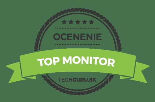 Ocenenie TechGuru TOP monitor