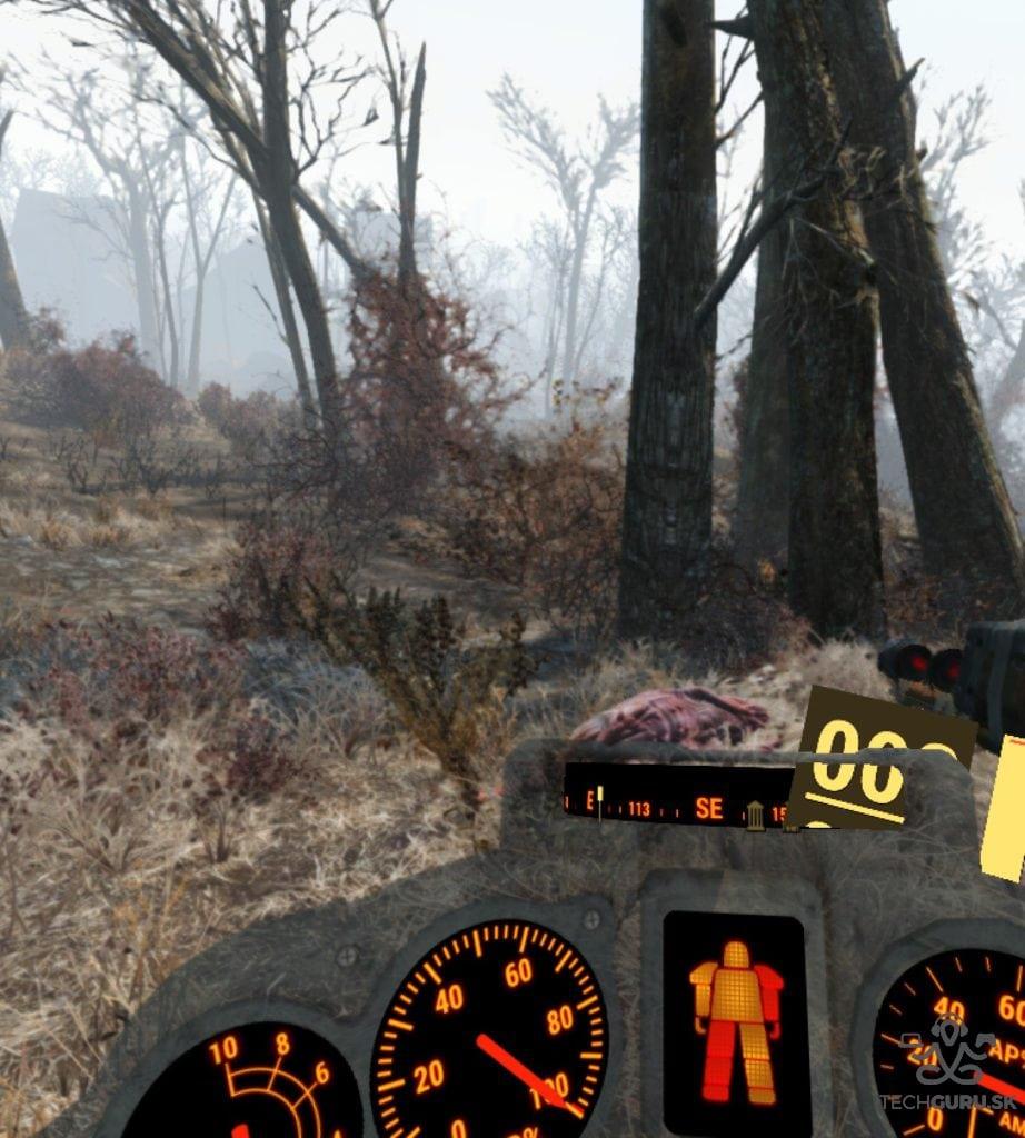 Fallout 4 VR recenzia energozbroj
