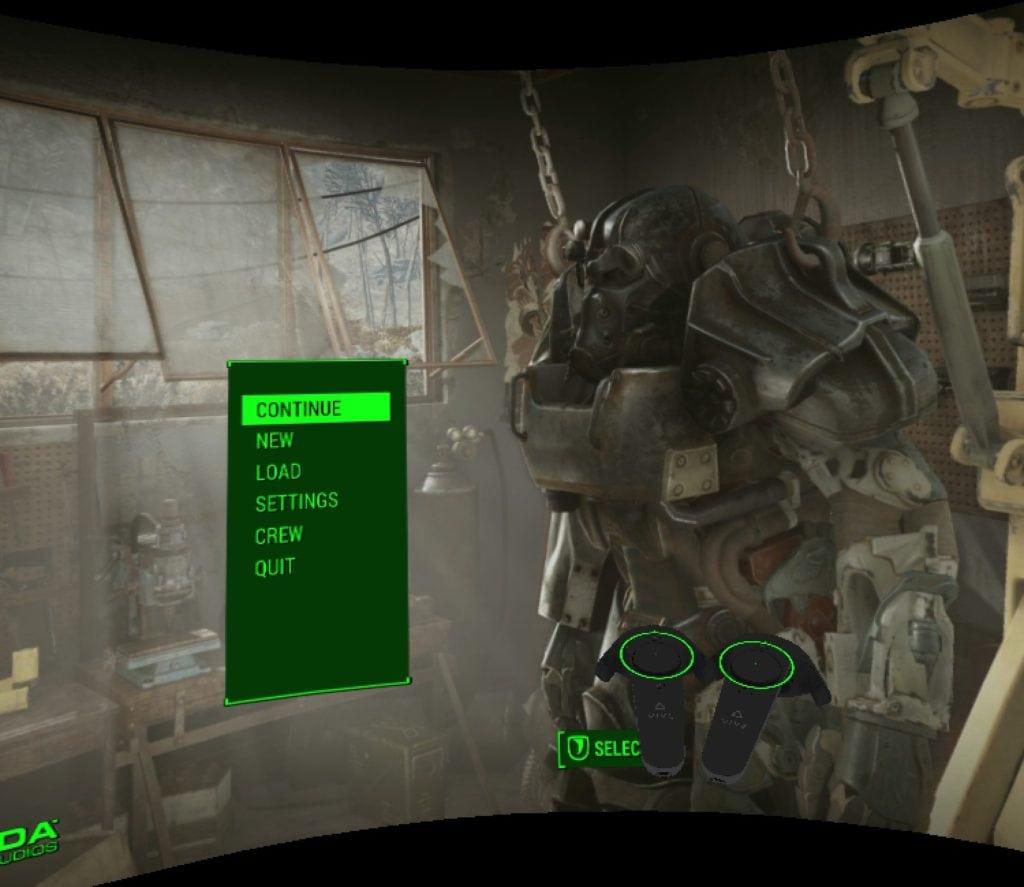 Fallout 4 VR recenzia energozbroj 01