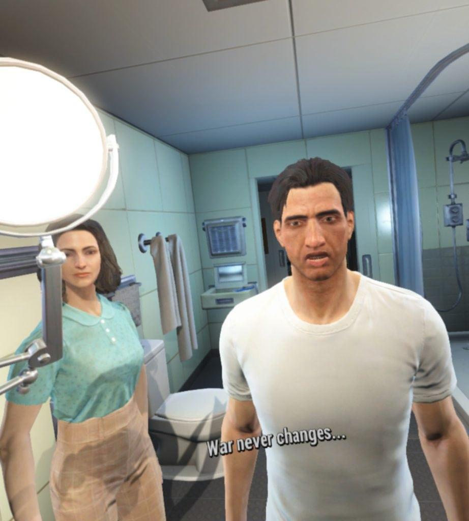 Fallout 4 VR recenzia War