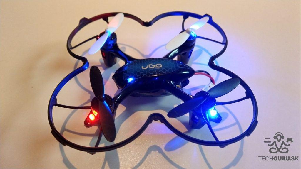 Dron UGO Fen aktivovaný