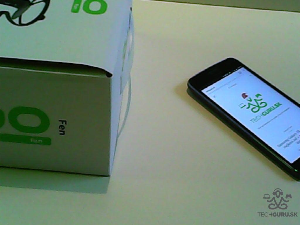 Dron UGO Fen záber z kamery