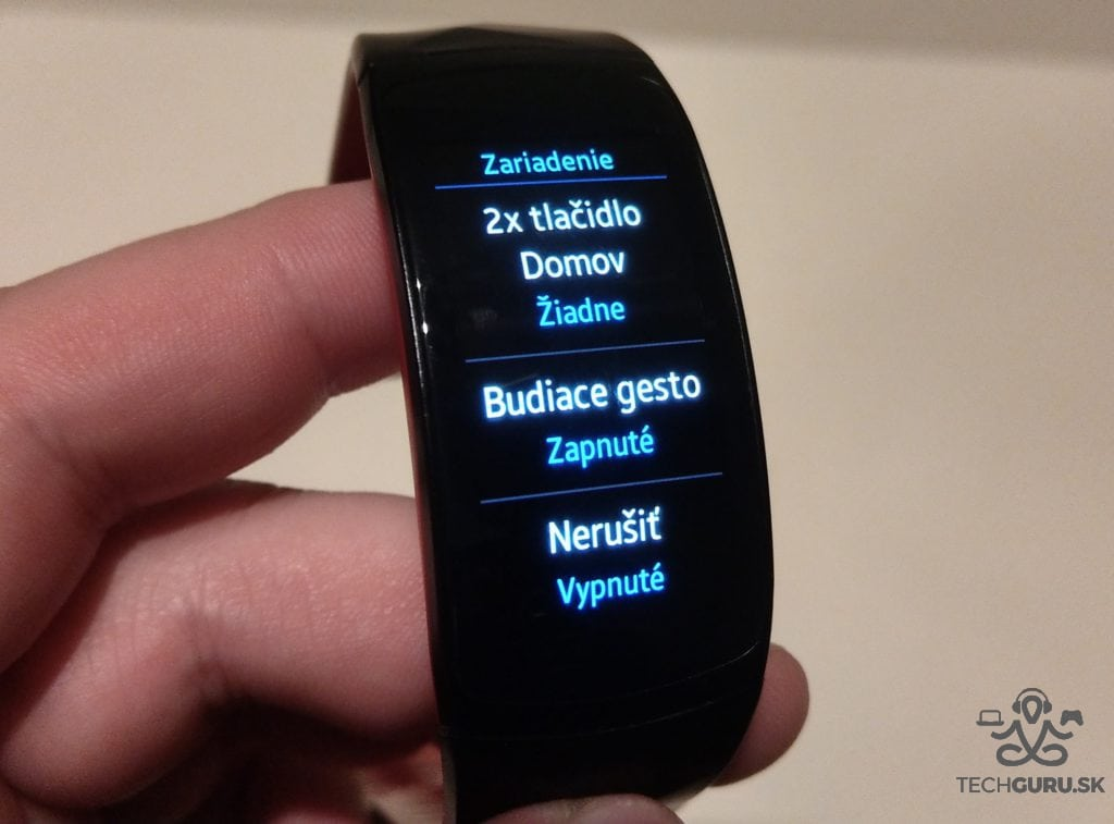 Samsung Gear Fit 2 Pro funkcie