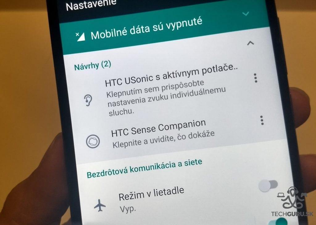 HTC U11 USonic a Companion