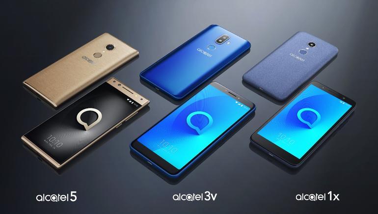 MWC 2018 : Alcatel 5, 3 a 1