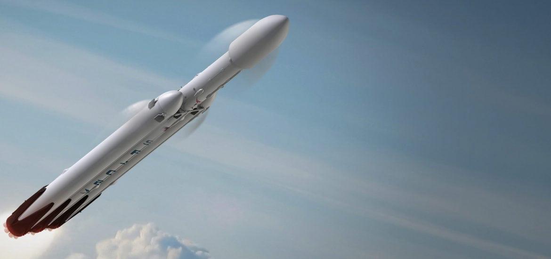 Falcon Heavy render