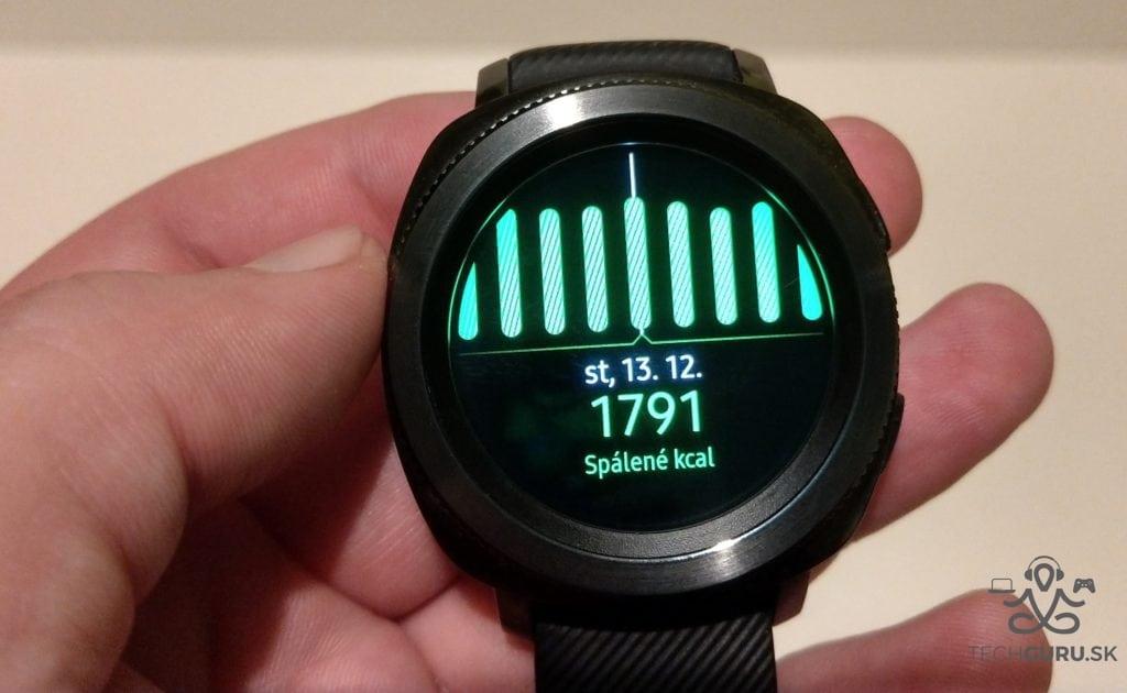 Samsung Gear Sport kalórie