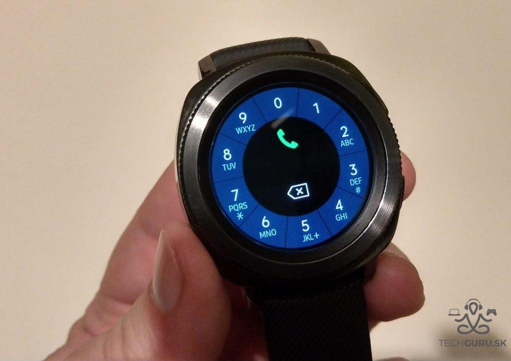 Samsung Gear Sport číselník