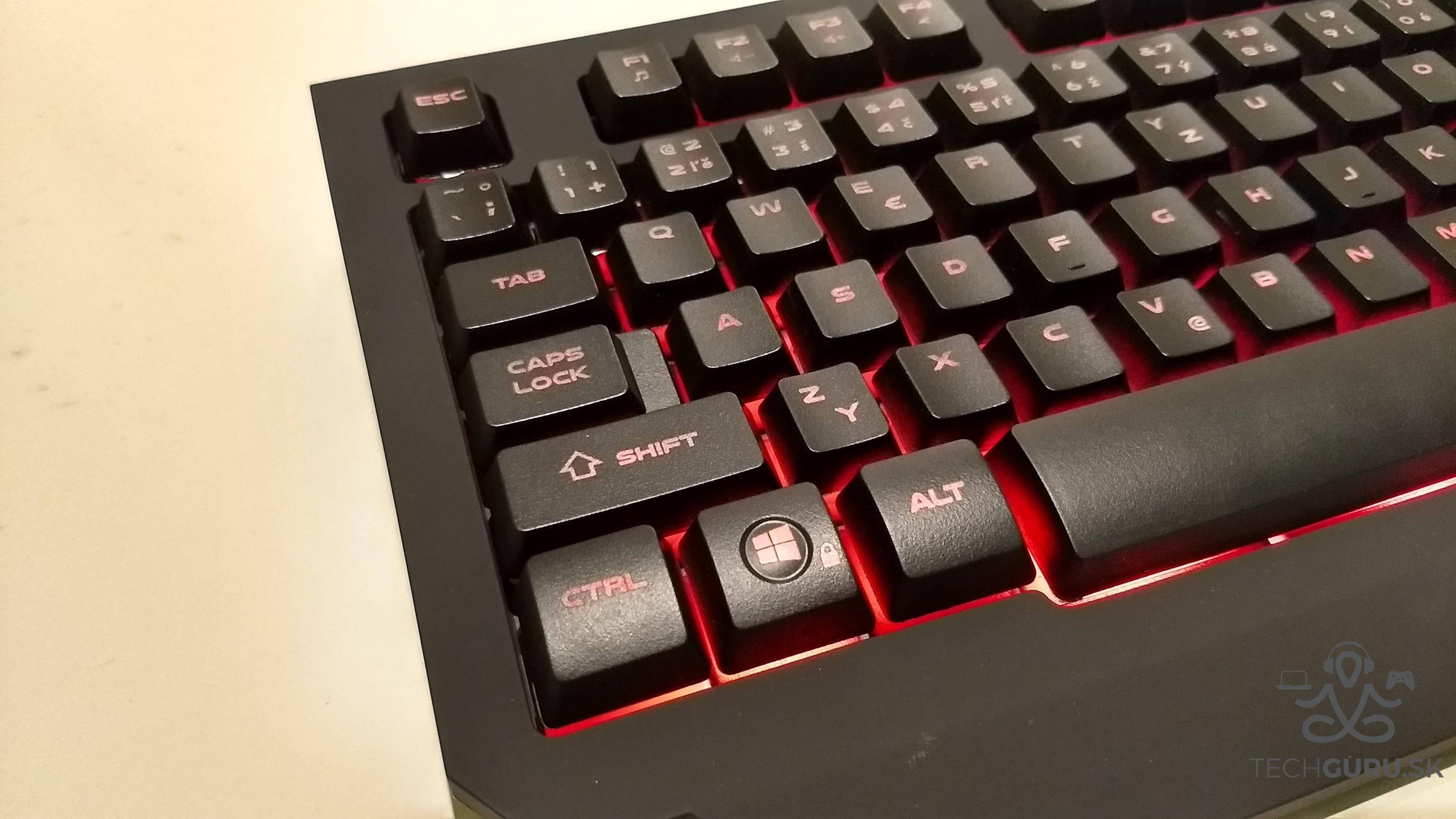 Genesis Cobalt 300 klávesnica 02