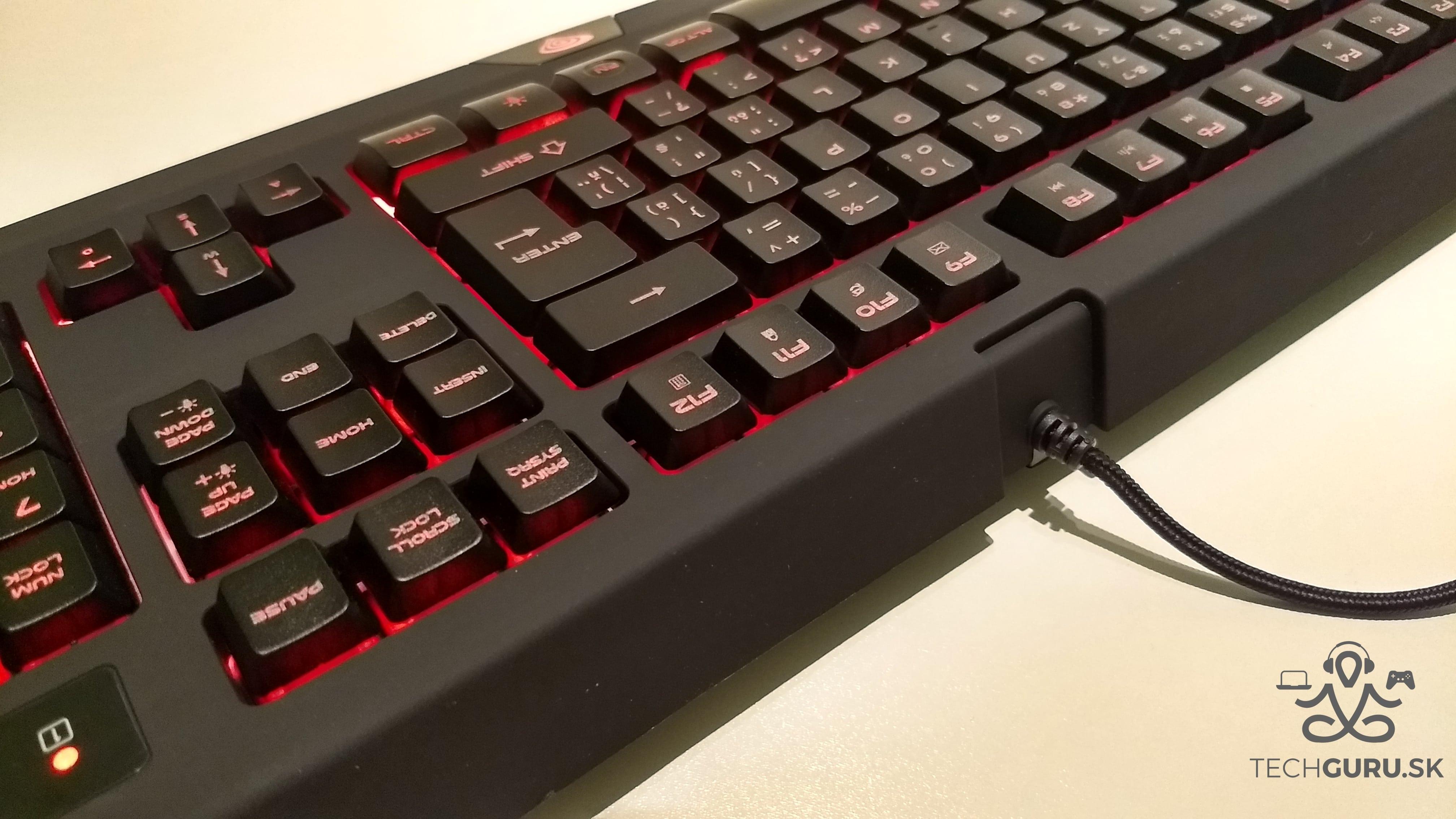 Genesis Cobalt 300 klávesnica 03