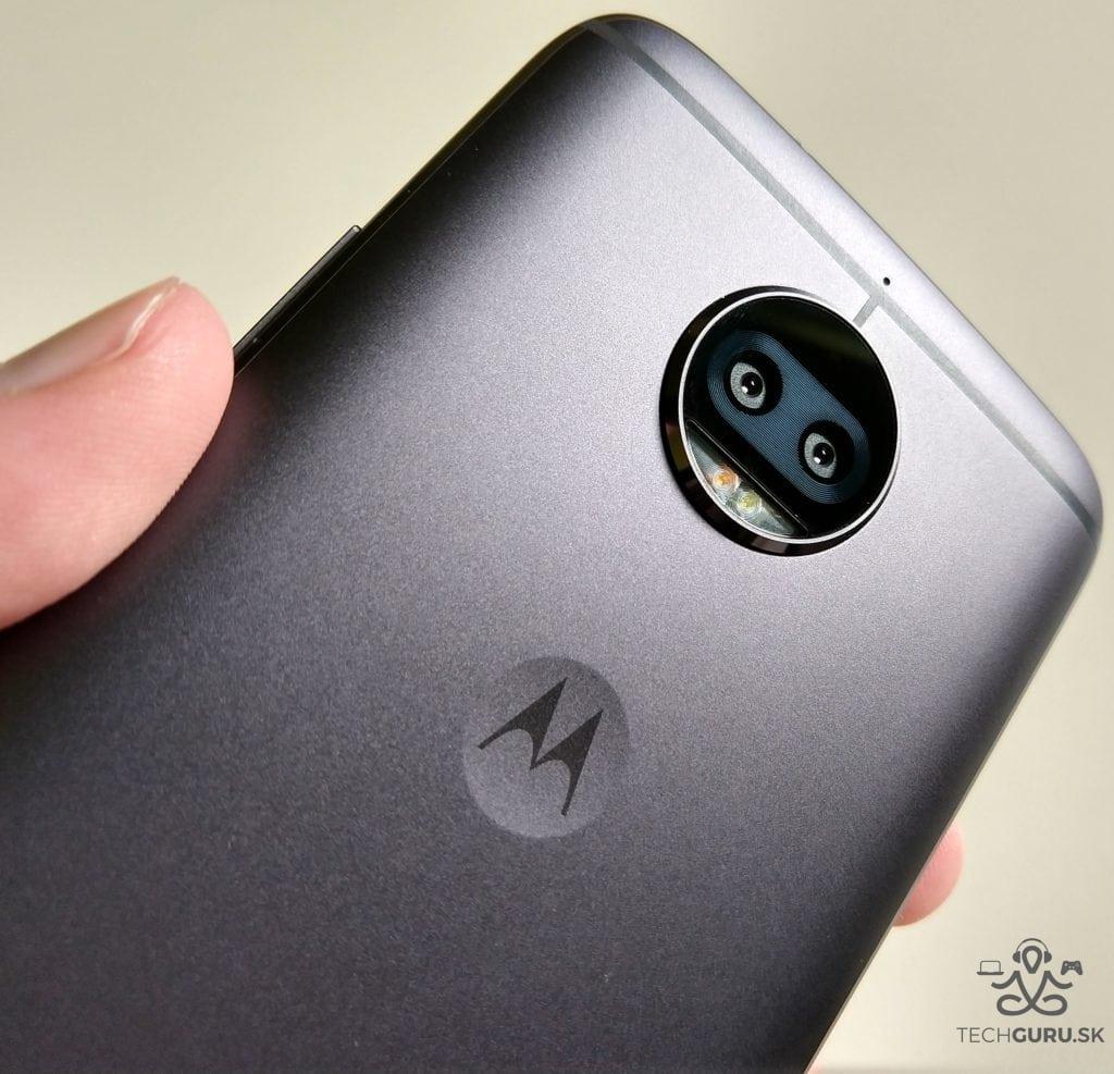 Motorola Moto G5S Plus zadný foťák