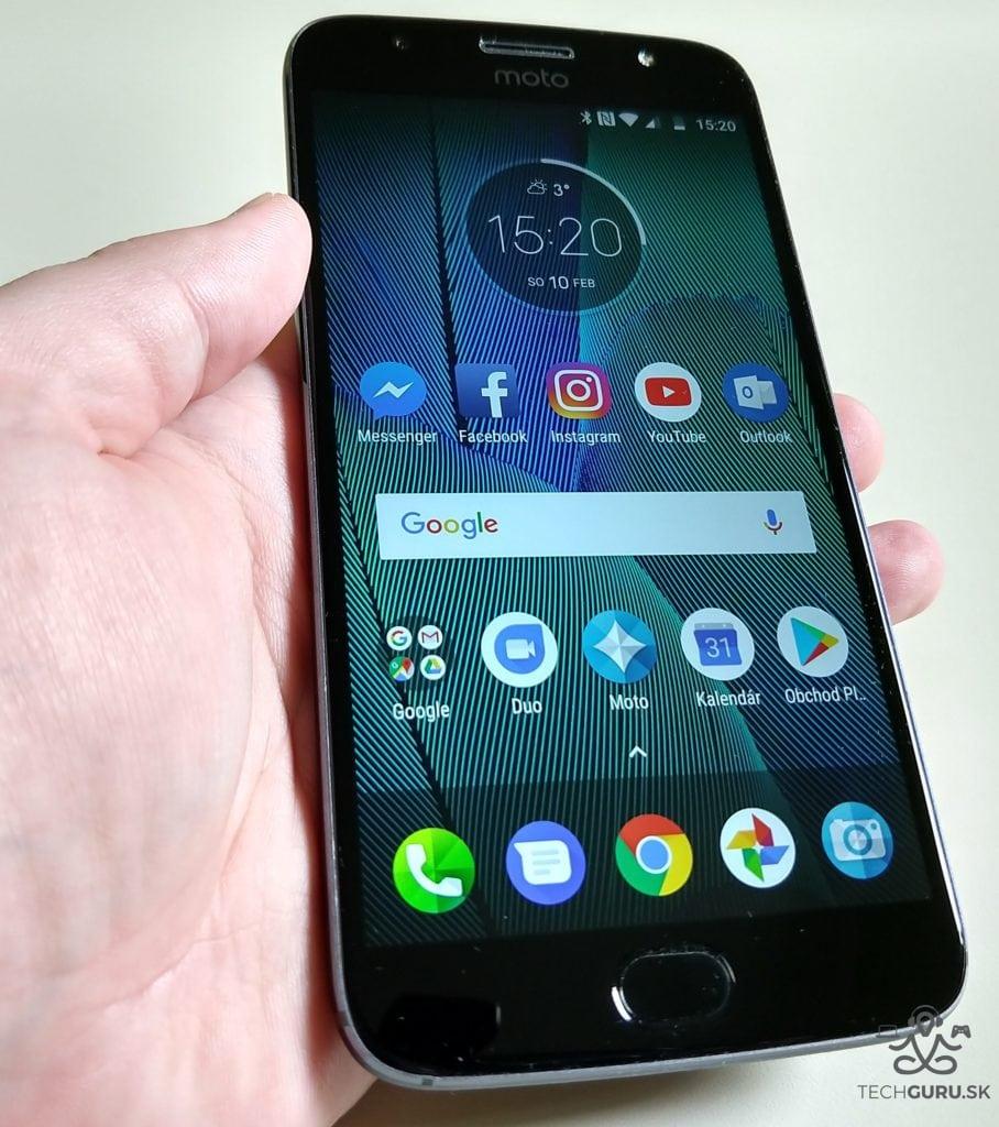 Motorola Moto G5S Plus displej
