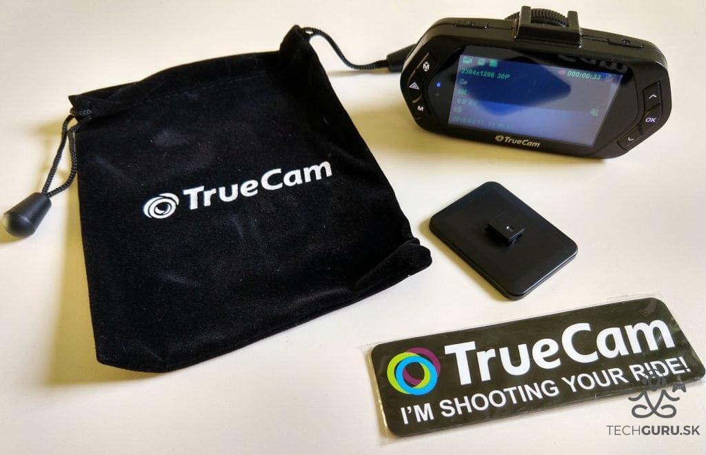 TrueCam A7s balenie