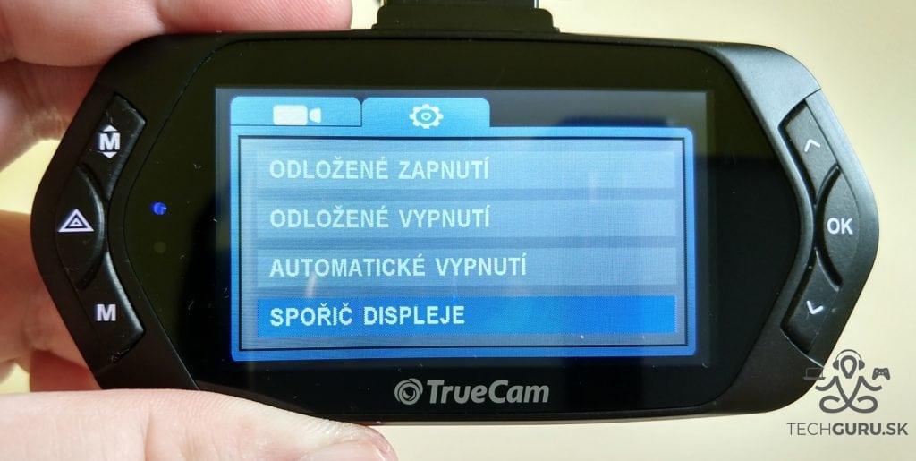 TrueCam A7s odložené vypnutie