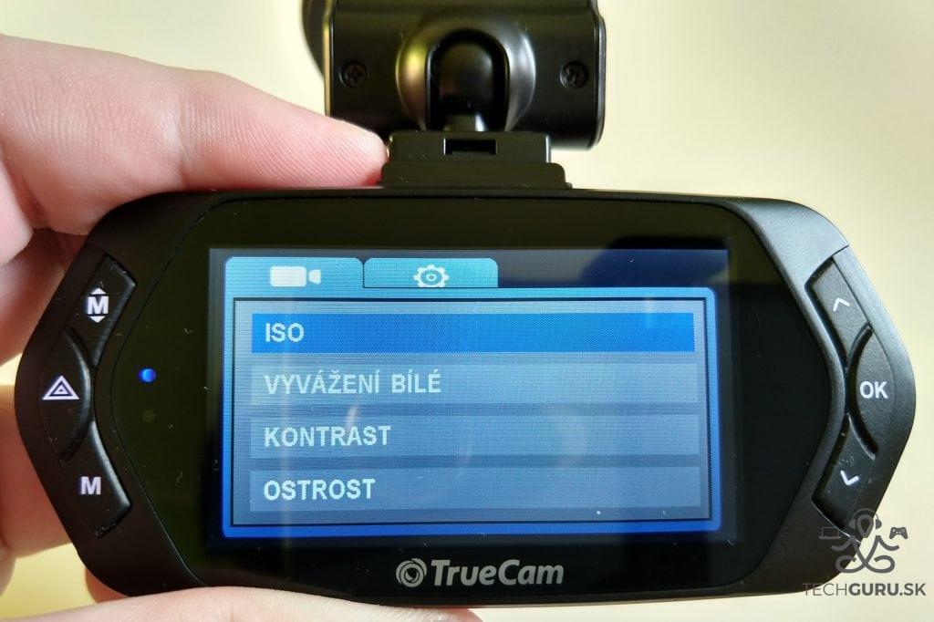 TrueCam A7s funkcie
