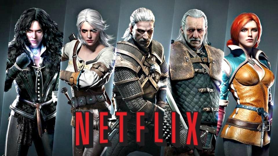Seriál Zaklínač na Netflixe titulka