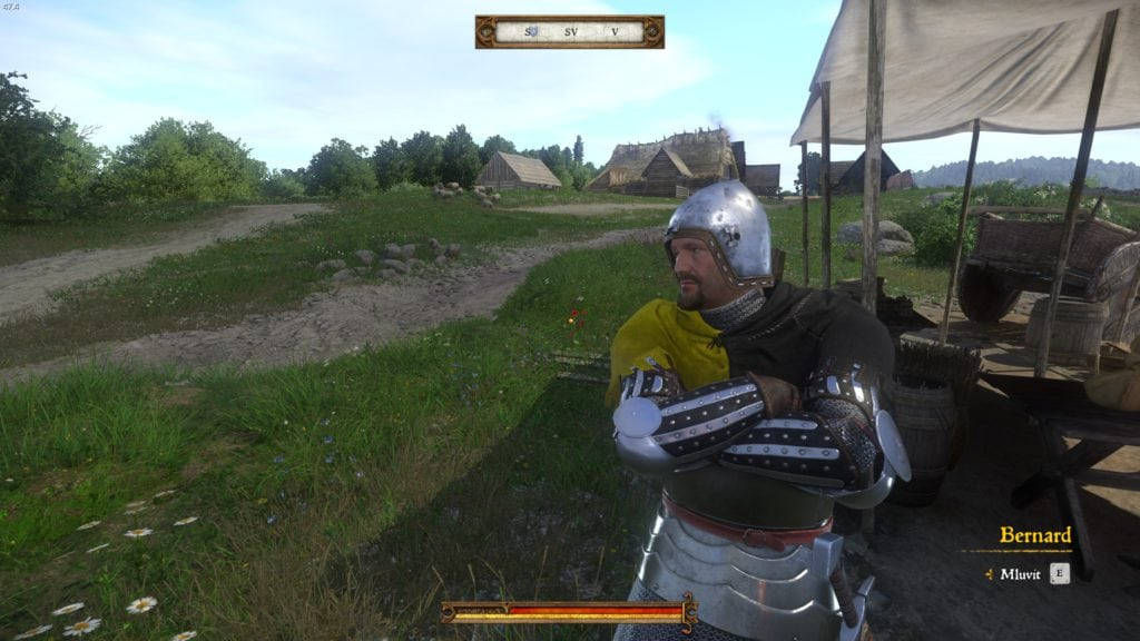 Kingdom Come Deliverance recenzia Bernard