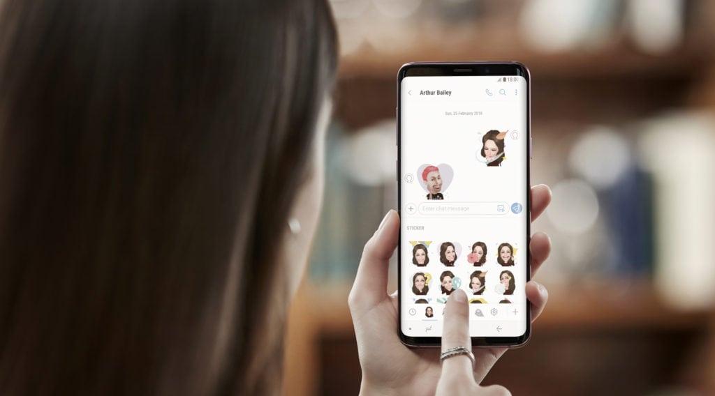 Samsung Galaxy S9 a S9+ AR_Emoji_2