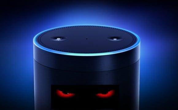 Amazon Alexa creepy laugh