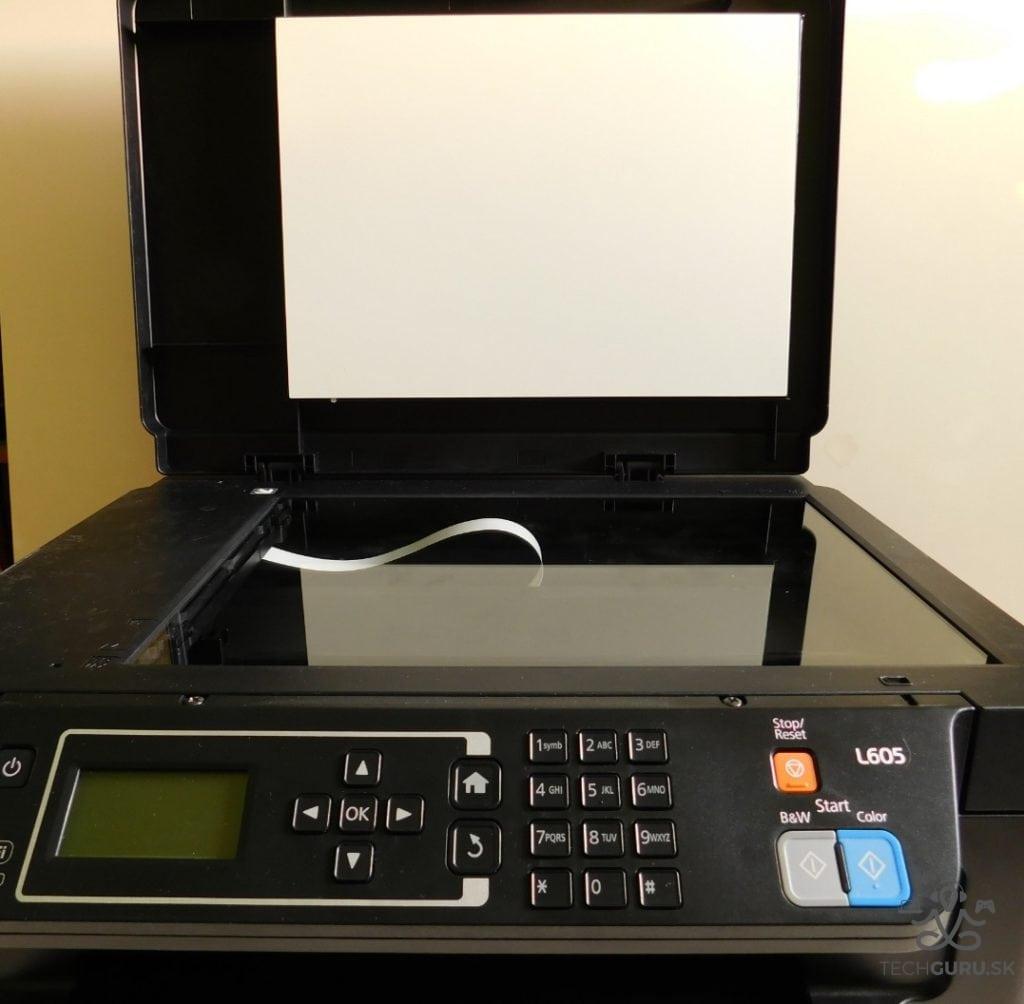 Epson L605 recenzia skener