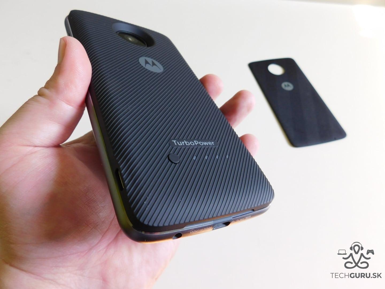 Motorola Moto Z2 Play a motomods - TurboPower Pack 03