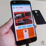 Motorola Moto Z2 Play a motomods - Gamepad 05
