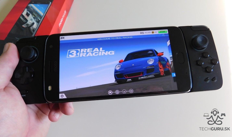 Motorola Moto Z2 Play a motomods - Gamepad 01