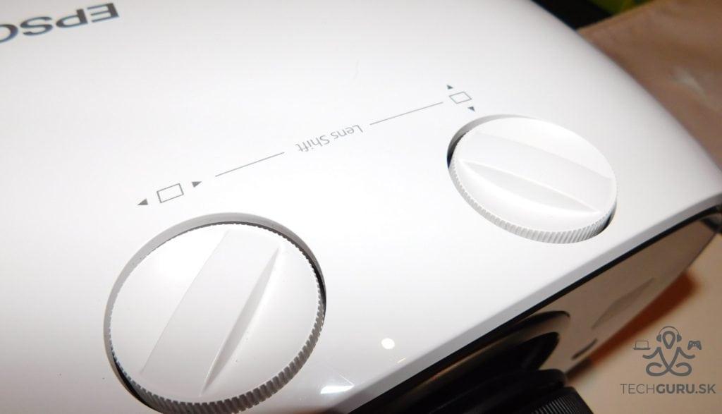 Epson EH-TW6700 nastavenie obrazu