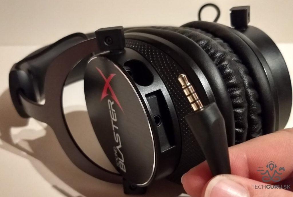 Creative Sound BlasterX H5 TE vstupy